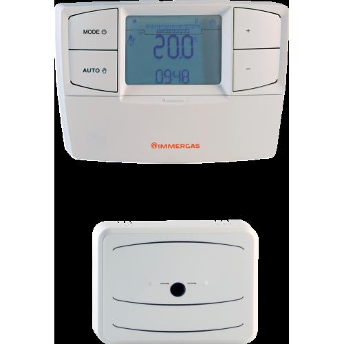 Бездротовий програмований кімнатний термостат CRONO 7 Wireless Immergas 3.021624